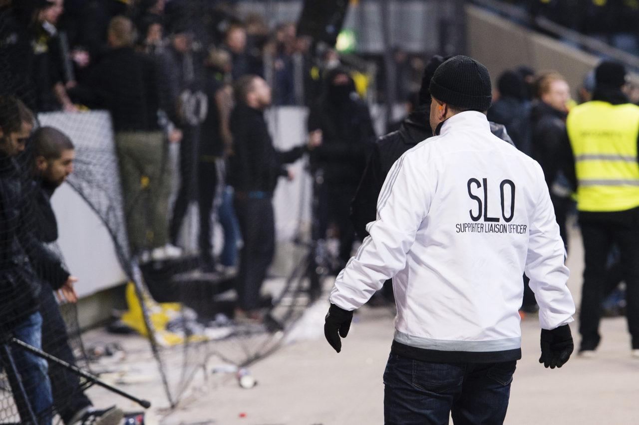 150307 AIK:s SLO under fotbollsmatchen i Svenska cupen mellan AIK och Hammarby den 7 mars 2015 i Stockholm. Foto: Johanna Lundberg / BILDBYRN  / 135326