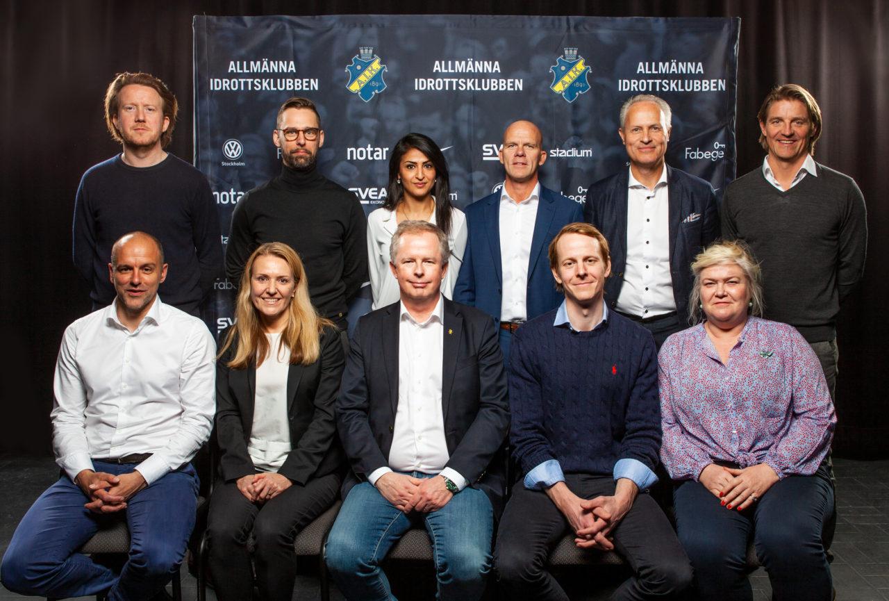 AIK Styrelse + JTA 2019