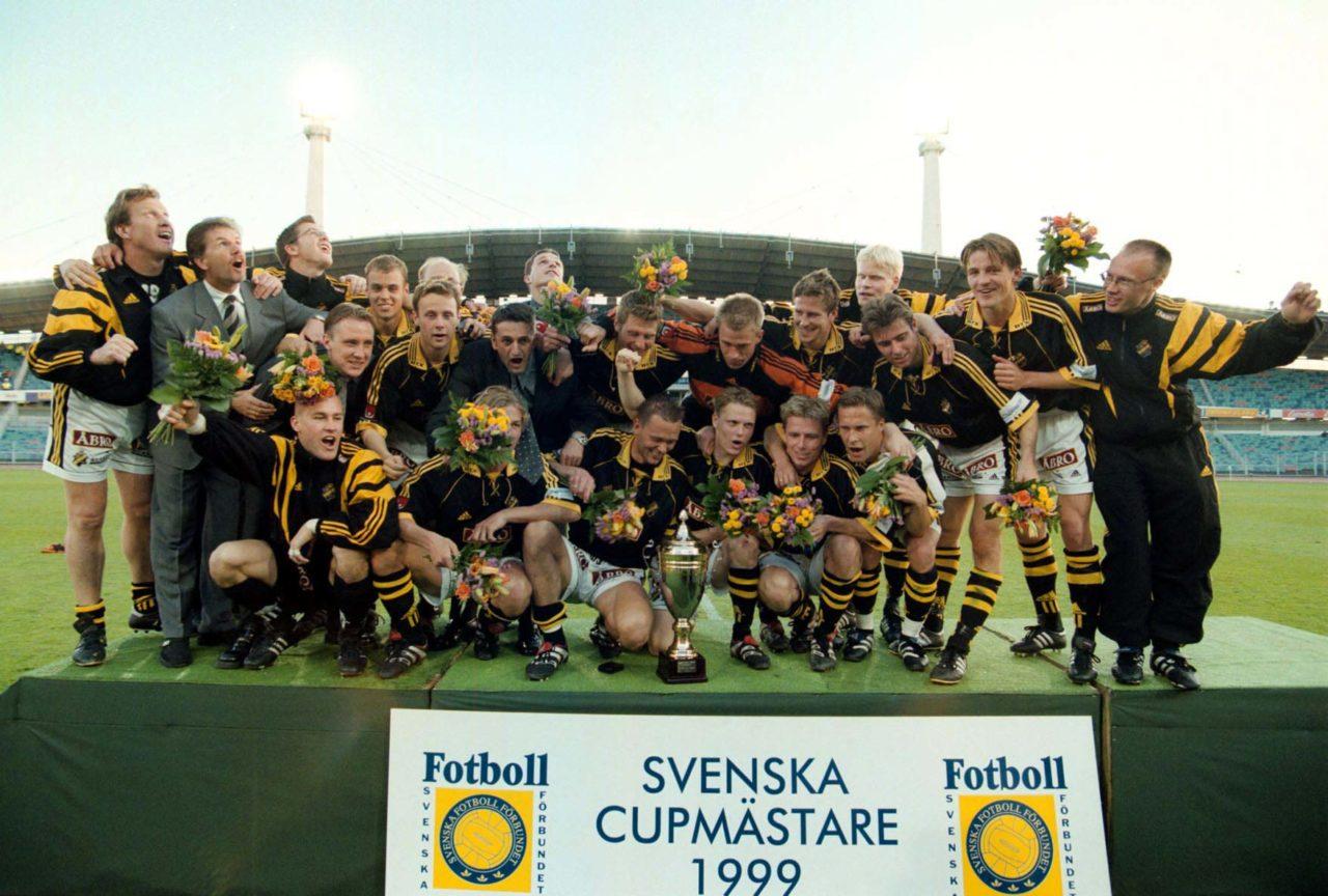990520 Final 2, Svenska Cupen: AIK mŠstarlag © BildbyrŒn - 50080