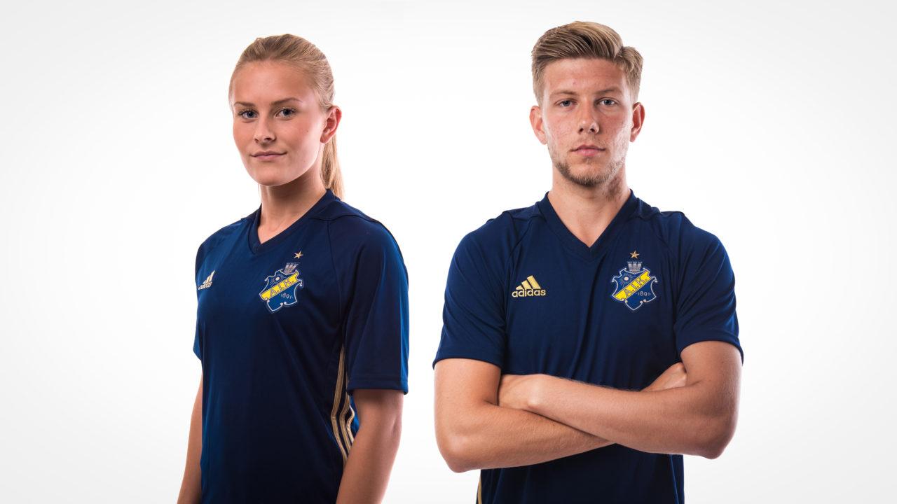 Europatröjan – Anton och Amanda