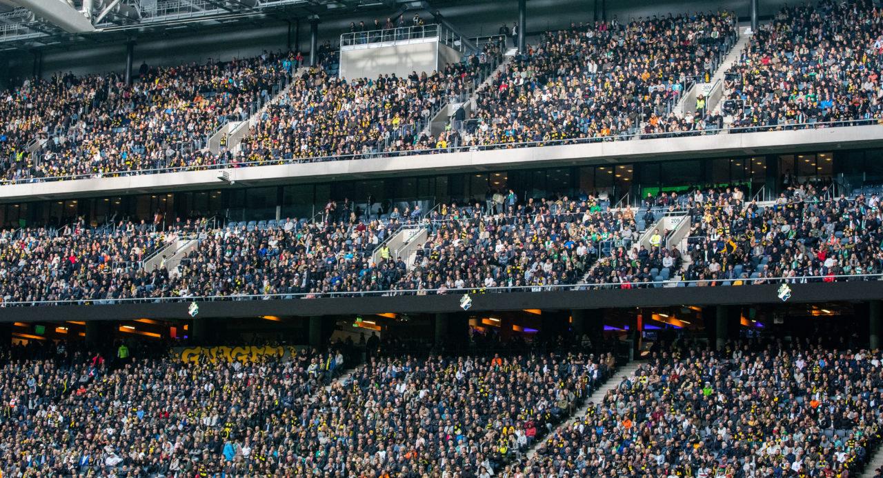 AIK Fotbolls målsättningar och nuläge i årskortsförsäljningen