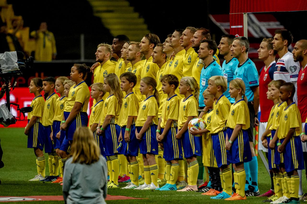 AIK-spelare på landslagsuppdrag imponerade