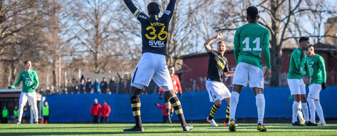Oavgjort efter två sena AIK-mål