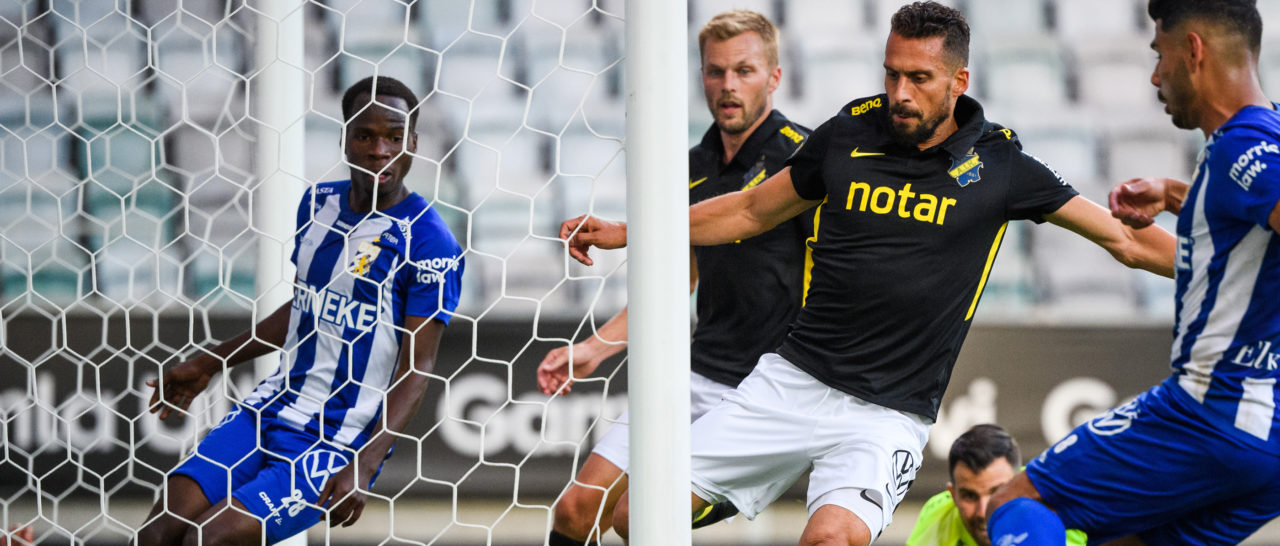 Omdiskuterat mål fällde AIK på stopptid